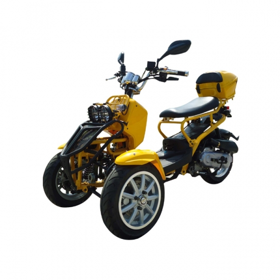 trois roues trike moto de 50cc gaz. Black Bedroom Furniture Sets. Home Design Ideas