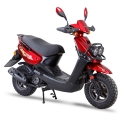 Chiese gros Scooter 150cc cyclomoteur rouge